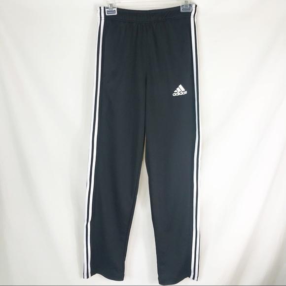 79e9e172fe4d adidas Pants   Climalite Straight Leg Track Pant 3 Stripe   Poshmark